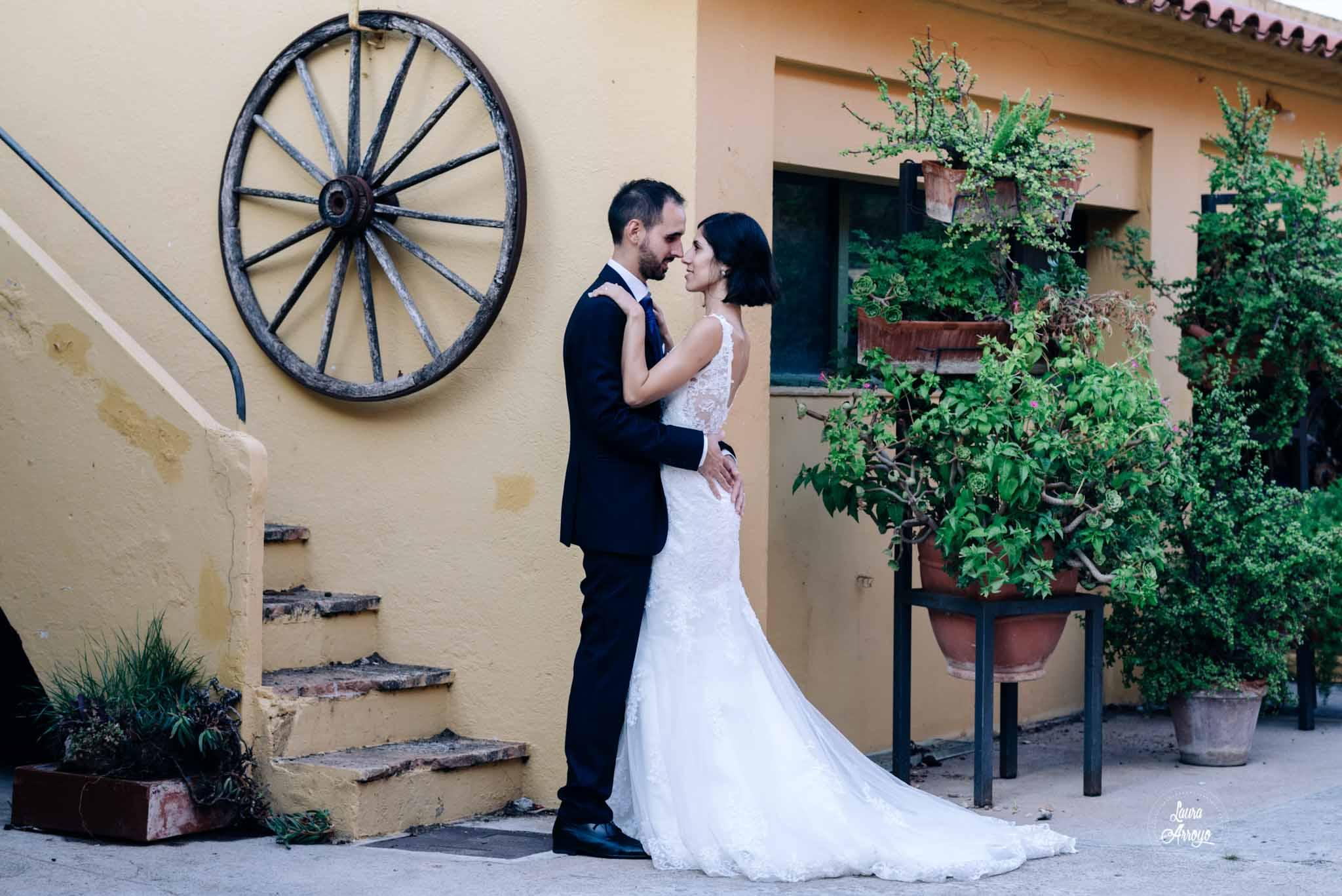 Postboda en la Masia Vilanoveta fotografía de bodas Laura Arroyo