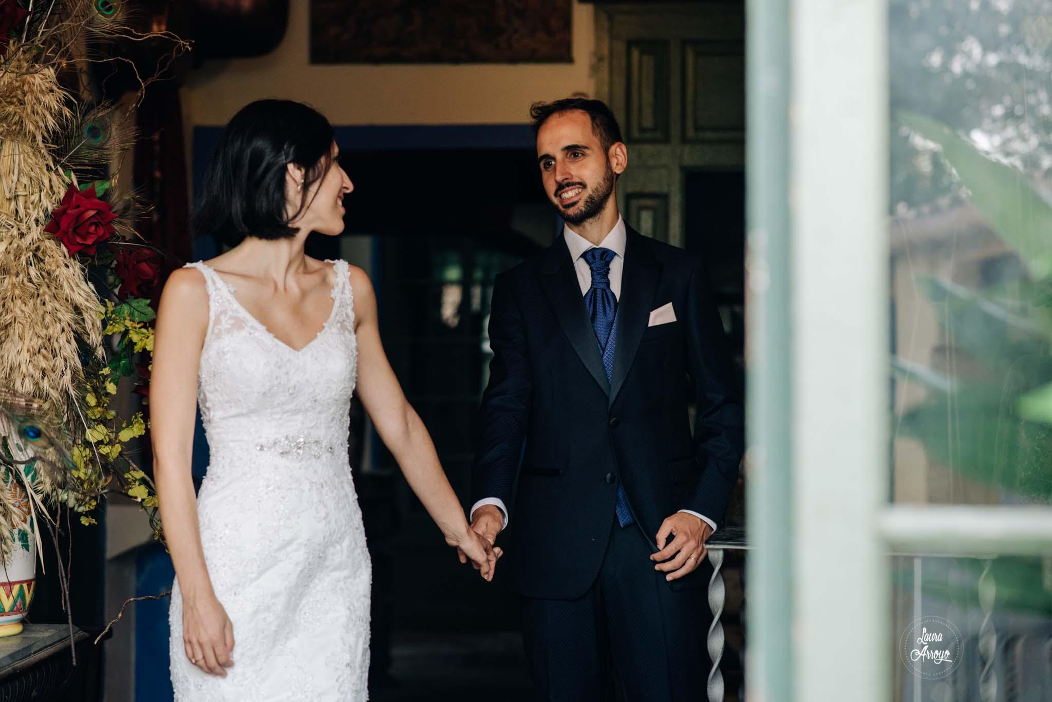 Postboda en Barcelona la Masia Vilanoveta fotografía de boda Laura Arroyo