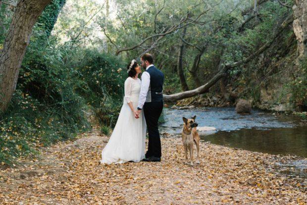 Reportaje fotográfico de boda en otoño