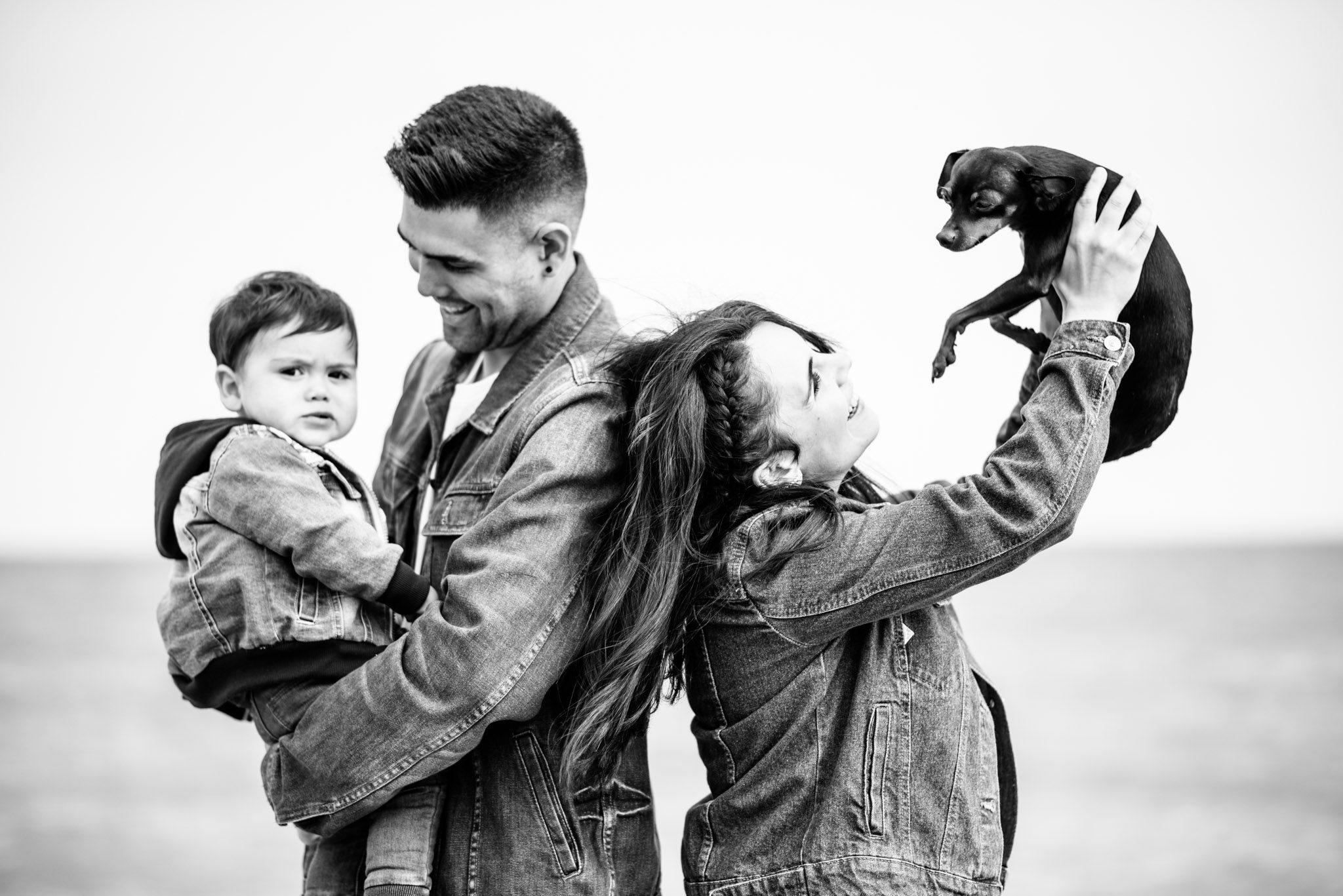 promoción sesión de fotografía en familia